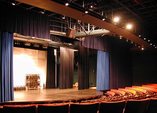电动舞台幕
